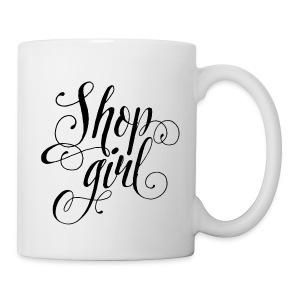 Shop Girl Mug - Coffee/Tea Mug