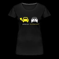 T-Shirts ~ Women's Premium T-Shirt ~ Women's Goodbye Gas Hello LEAF