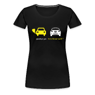 Women's T-Shirts ~ Women's Premium T-Shirt ~ Women's Goodbye Gas Hello LEAF