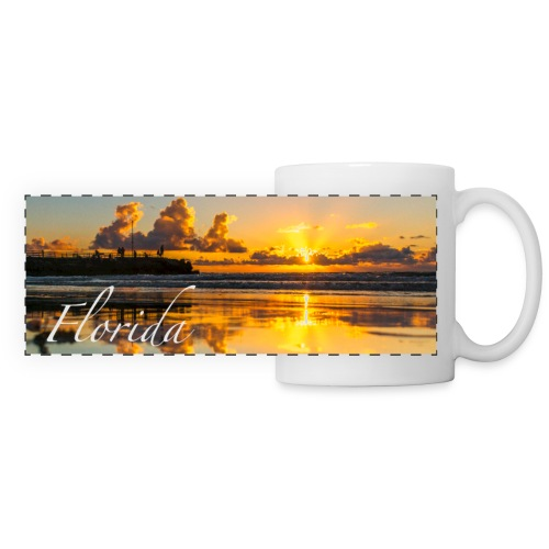 Jupiter Sunrise Reflection Mug - Panoramic Mug