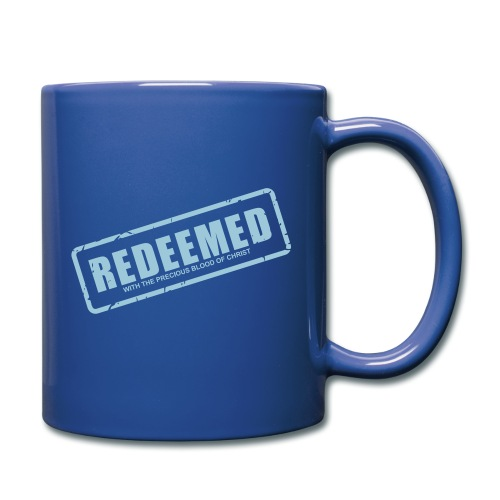 Redeemed with the precious blood of Christ - Full Color Mug