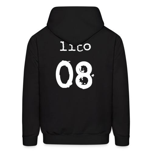 Lito (8 Logo Front) Hoodie I - Men's Hoodie