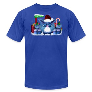 Christmas Puschel - Men's T-Shirt by American Apparel