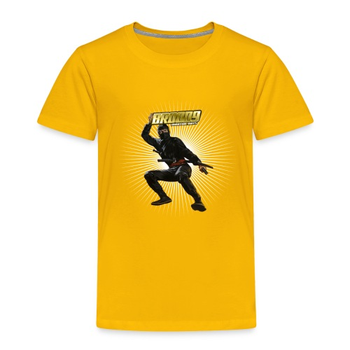 Brood 9 Ninja Shirt - Toddler Premium T-Shirt