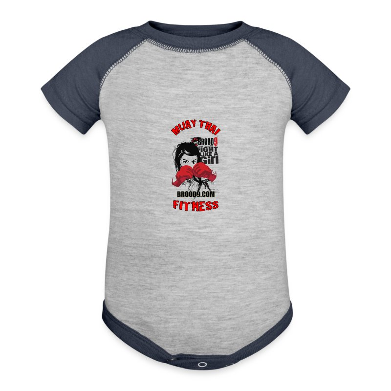 Brood 9 Baby Muay Thai - Baby Contrast One Piece