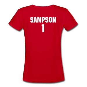 Sampson - Women's V-Neck T-Shirt
