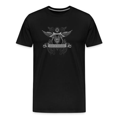 Crest Of Vanguard T-Shirt Design - Men's Premium T-Shirt