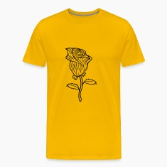 rose thorns red spring blossom gift love symbol ta T-Shirts
