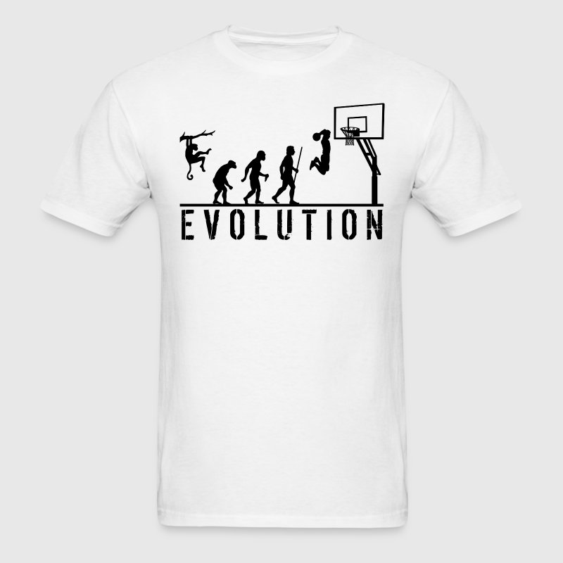 Evolution Basketball T Shirt - Men's T-Shirt