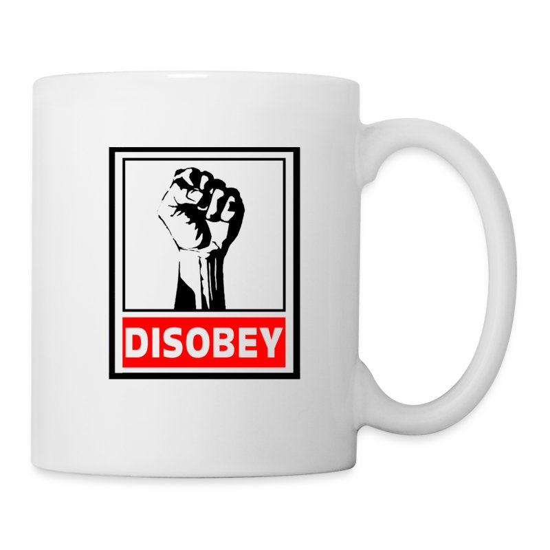 Disobey - Coffee/Tea Mug