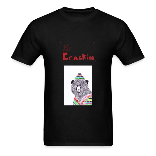 Mr Crackin Bear  - Men's T-Shirt
