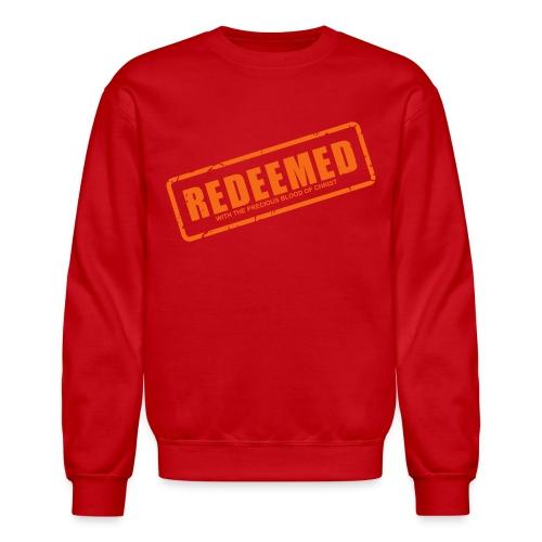 Redeemed with the precious blood of Christ - Crewneck Sweatshirt
