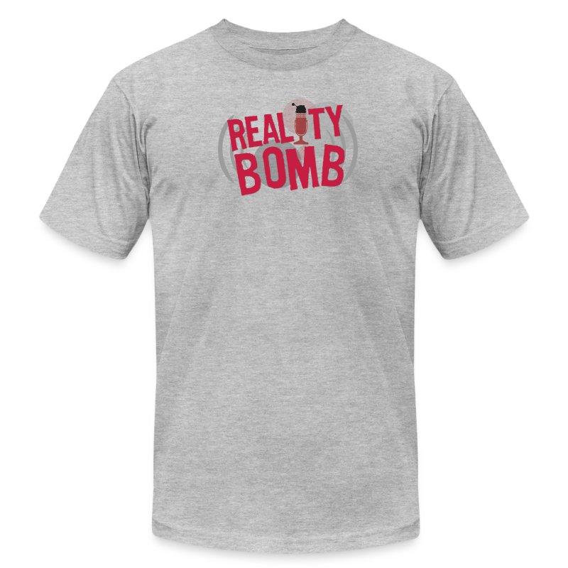 Reality Bomb logo.png - Men's Fine Jersey T-Shirt