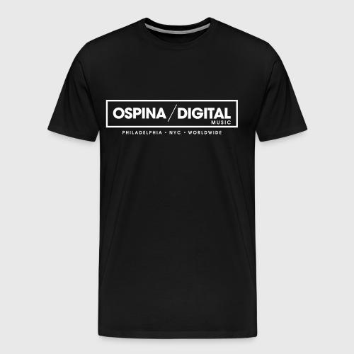 Ospina Digital Music - Official T-Shirt (Black) - Men's Premium T-Shirt