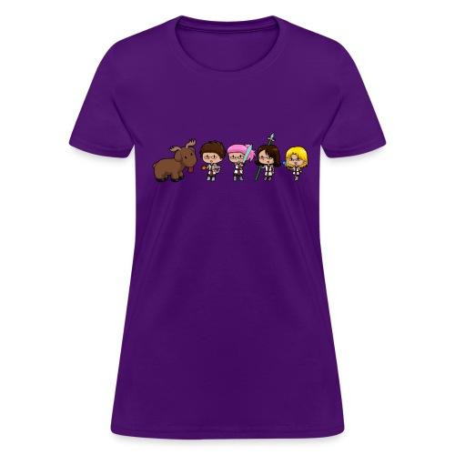 Moose Team (Fem Cut) - Women's T-Shirt