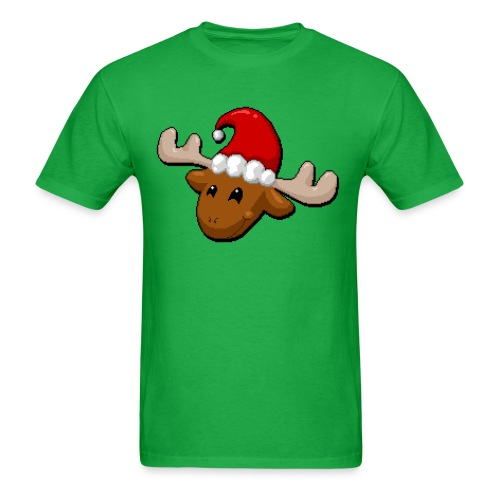 Merry Christmoose (Masc Cut) - Men's T-Shirt