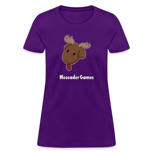 Moose Head (Fem Cut) - Women's T-Shirt