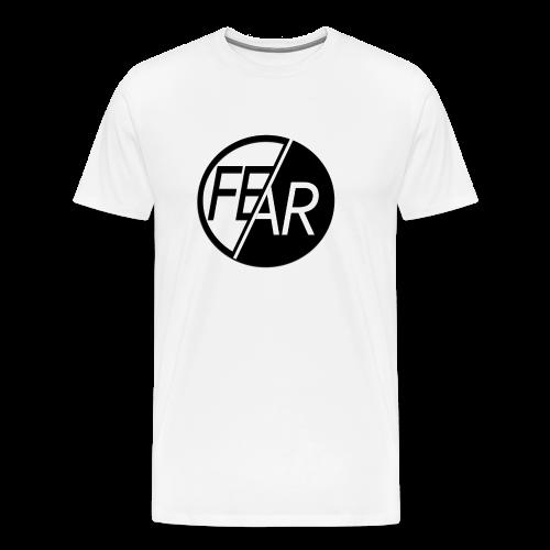 No Fear Tee | Black & White - Men's Premium T-Shirt