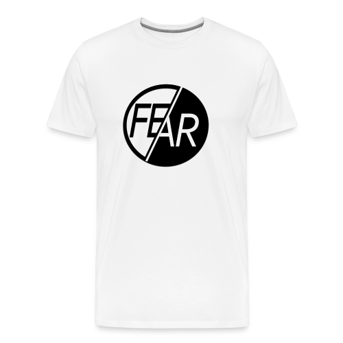 No Fear Tee | Black & White - Men's Premium T-Shirt