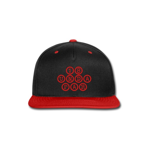 SnapBack Red - Snap-back Baseball Cap