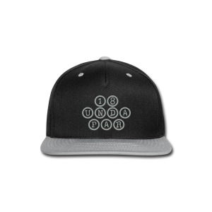 SnapBack Black/Gray - Snap-back Baseball Cap