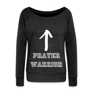 Prayer Warrior  - Women's Wideneck Sweatshirt