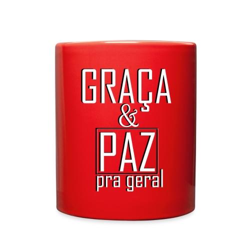 Caneca personalizada GRAÇA E PAZ PRA GERAL - Full Color Mug