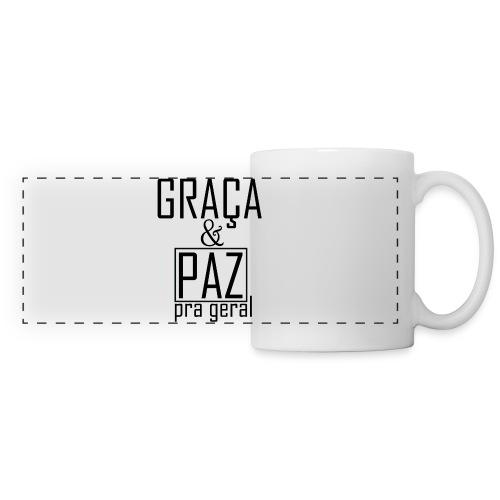 Caneca personalizada GRAÇA E PAZ PRA GERAL - Panoramic Mug