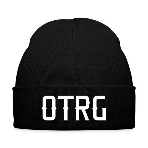 OTRG - Knit Cap with Cuff Print