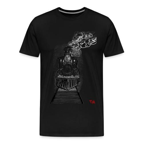 Mens Locamotive Art Tee - Men's Premium T-Shirt