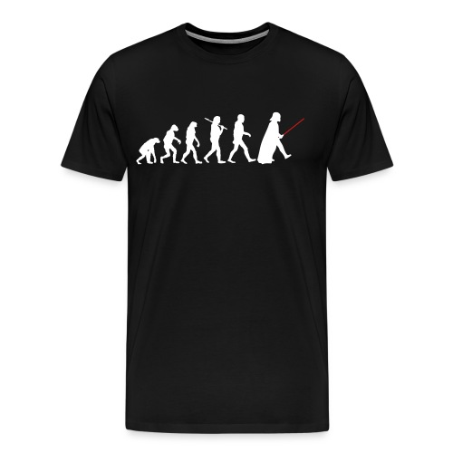 Evolution of the Sith Mens Tee - Men's Premium T-Shirt
