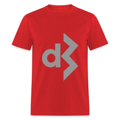 Gray DB Logo Tee - Men's T-Shirt