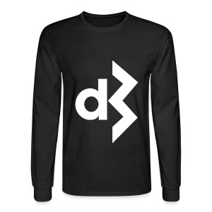 White DB Logo Longsleeve - Men's Long Sleeve T-Shirt