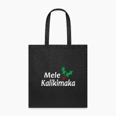 mele kalikimaka, merry christmas, ho-ho-ho Bags & backpacks
