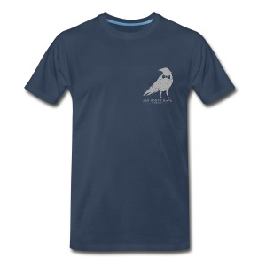 Crow Wearing a Bow-Tie T-Shirt Two - Men's Premium T-Shirt