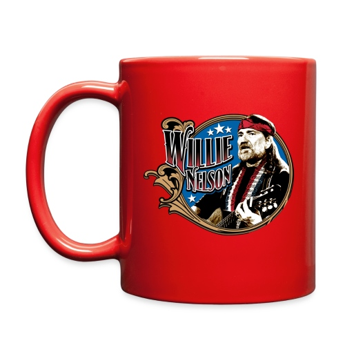 Vintage Willie Red Mug SAMPLE - Full Color Mug