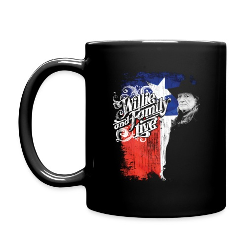 Willie Family Live Black Mug SAMPLE - Full Color Mug