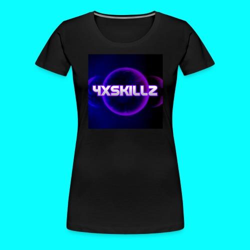 4xSkillz Logo T-Shirt Female - Women's Premium T-Shirt