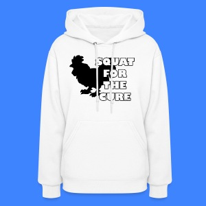 Squat For The Cure (female) - Women's Hoodie