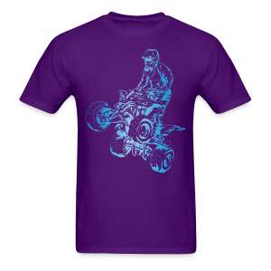 Motocross Quad - Men's T-Shirt