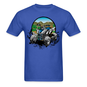Blue Forest Quad - Men's T-Shirt