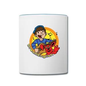 COFFEE MUG: MATT & TUNES - Contrast Coffee Mug
