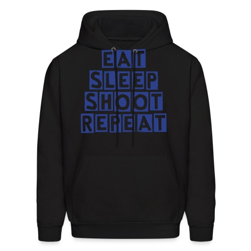 Eat Sleep Shoot Repeat - Men's Hoodie