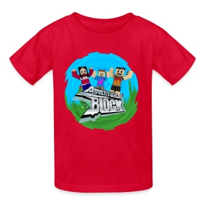 Adventure Block (CRAFTY) - Kids' T-Shirt