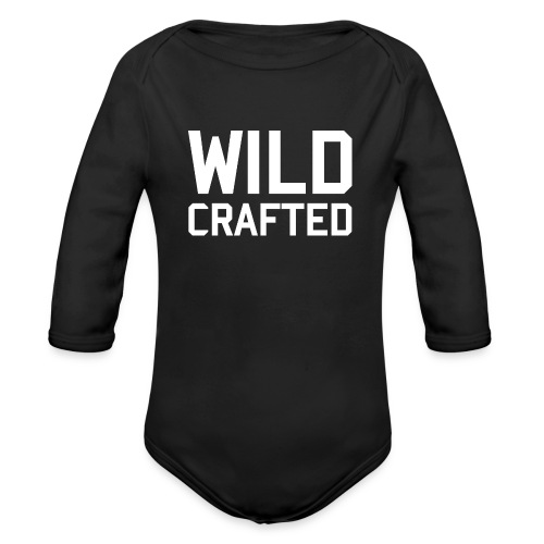 WILD CRAFTED BABY - Organic Long Sleeve Baby Bodysuit
