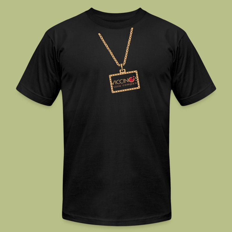The Bling - Men's T-Shirt by American Apparel