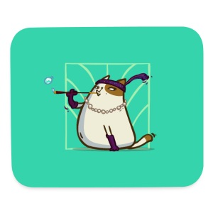 Catsby — Friday Cat №33 - Mouse pad Horizontal