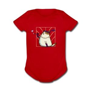 Catsby — Friday Cat №33 - Short Sleeve Baby Bodysuit