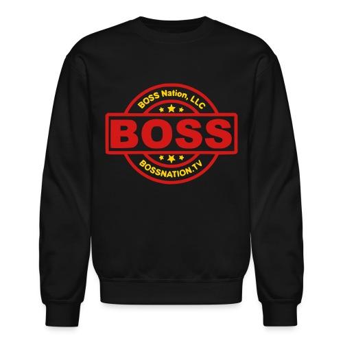 BOSS Stamp Crew Sweater - Crewneck Sweatshirt