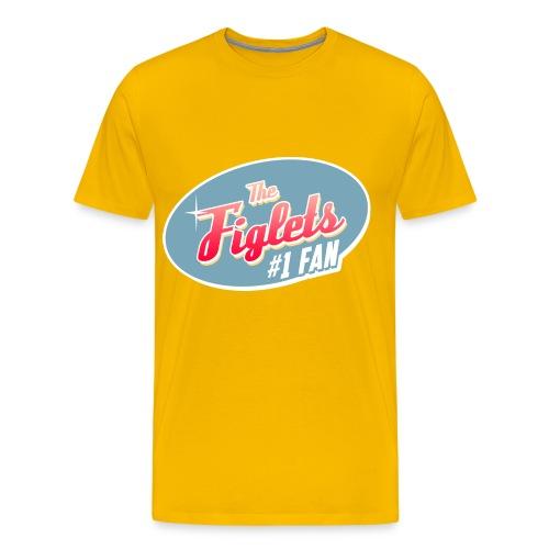 Mens Figlet Fan Shirt - Men's Premium T-Shirt